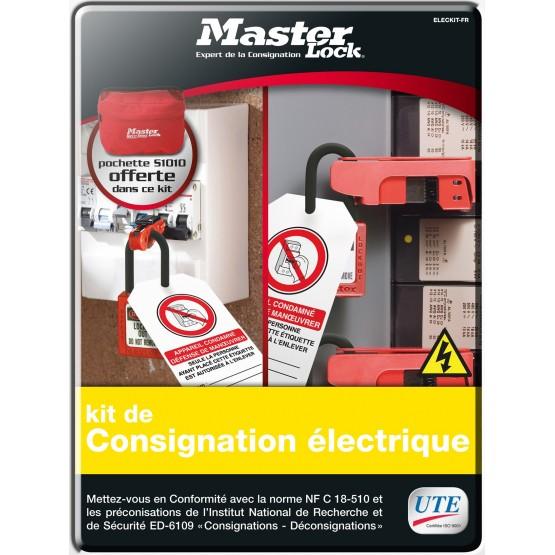 Kit de consignation standard pour électricien